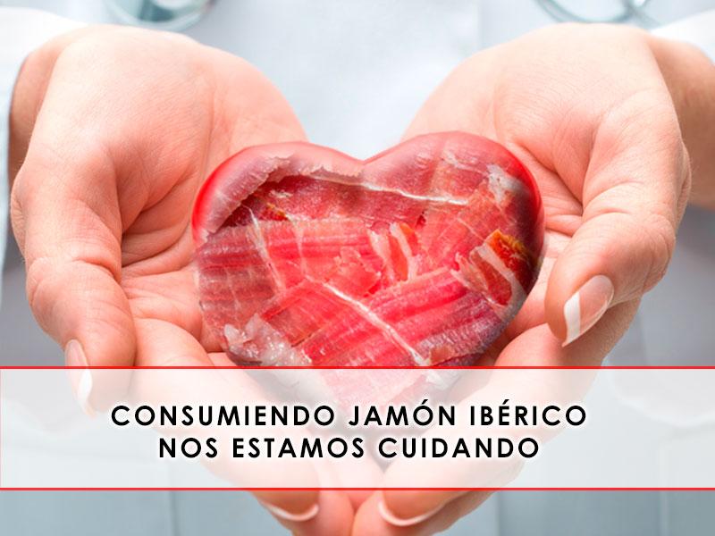 Consumiendo Jamón ibérico